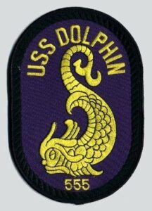 USS Dolphin AGSS-555 Patch