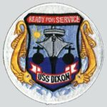 "Ships Patch - ""Ready For Service"""
