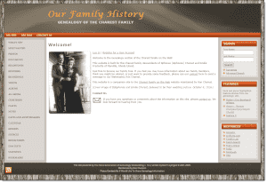 Charest Family History